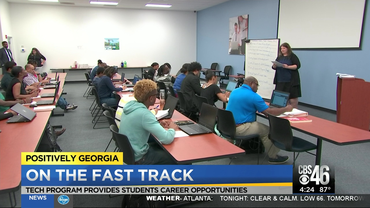 CBS46: Tech program helps underserved and unemployed start new