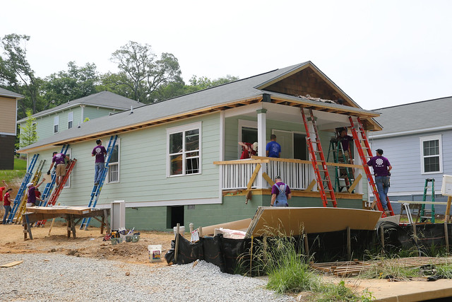 Participated In Annual Technology Community Habitat For Humanity House Build