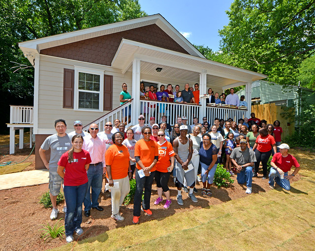 10th Year of Participation at the Annual Technology Community Habitat For Humanity House Build