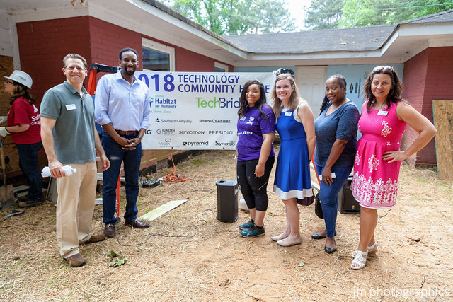 TechBridge Co-Sponsors 2018 Technology Community Build with Habitat for Humanity