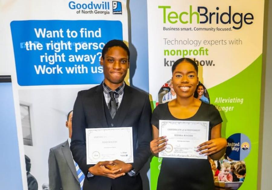 TechBridge TCP graduates