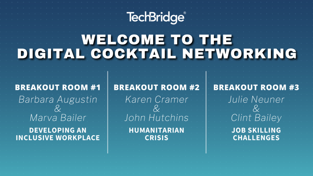 Digital Cocktail Networking Graphics