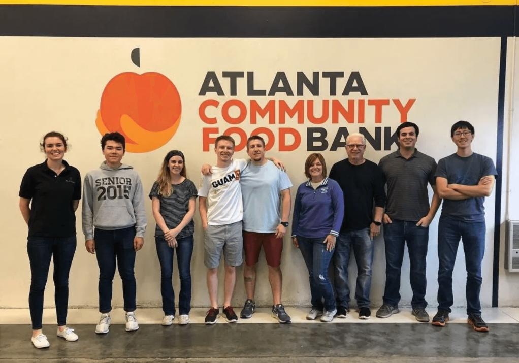 Atlanta Community Food Bank group