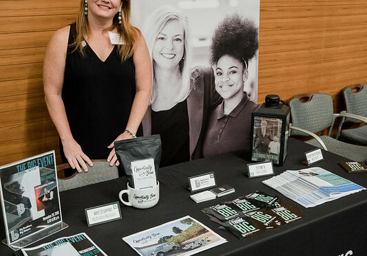 Kelly Qualls BBBS South Alabama Dream Big Info Booth