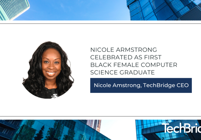 Nicole Armstrong Celebrated as First Black Female Computer Science Graduate